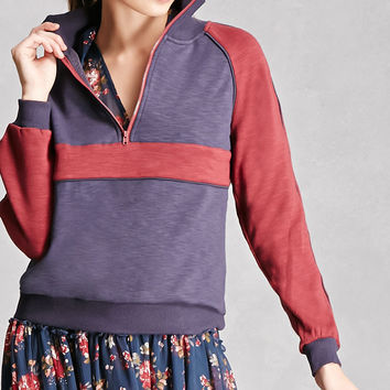 Honey Punch Colorblock Pullover