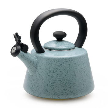 Paula Deen Signature Speckled Aqua Whistling 2-quart Tea Kettle | Overstock.com Shopping - The Best Deals on Tea Kettles/Teapots