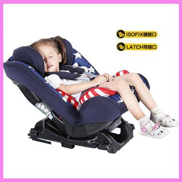Baby Child Car Safety Seat Isofix Interface Harness Infant Adjustable Car Chair 0~12 Y