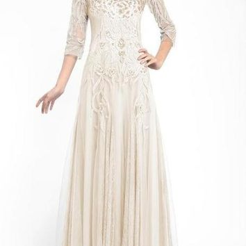 Sue Wong Long Dress Evening Gown Formal
