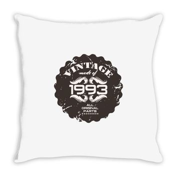 vintage made of 1993 all original parts Throw Pillow