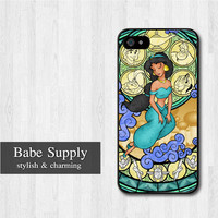 Aladdin Jasmin iPhone 5 case, Disney iPhone 5 hard case, Princess cover skin case for iphone 5 (Hard / Rubber case for choice)