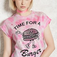 Time For A Burger Graphic Tee