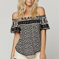LA Hearts Bobble Off Shoulder Top at PacSun.com