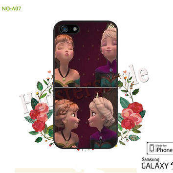 Disney frozen Phone Cases, iPhone 5/5S Case, iPhone 5C Case, iPhone 4/4S Case, Galaxy S3 S4 S5 Note 2 Note 3 Case for iPhone-A07