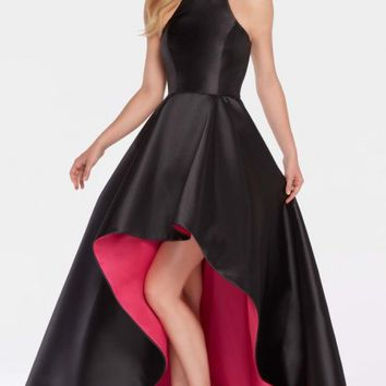 Alyce Paris 60100 Contrast Lined High Low Gown