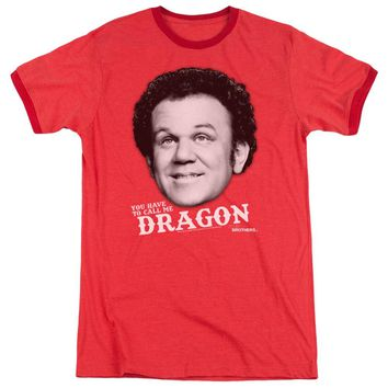 Step Brothers Ringer T-Shirt Dragon Red Tee
