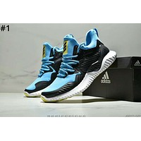 ADIDAS ALPHABOUNCE 2019 new men's shock-absorbing running shoes #1