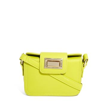 ASOS Mini Cross Body Bag With Chunky Lock