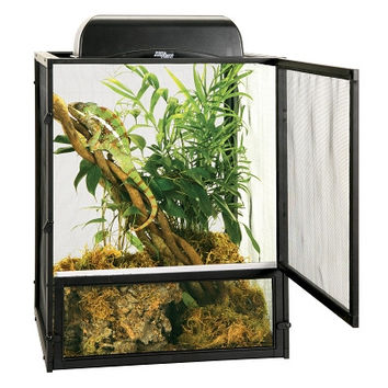 Zoo Med Repti Breeze Reptile/Amphibian Cage Sz: Lg