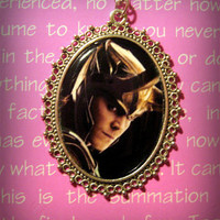 Loki (Tom Hiddleston) Necklace Pendant