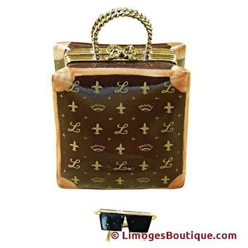 DESIGNER SHOPPING BAG LIMOGES BOX