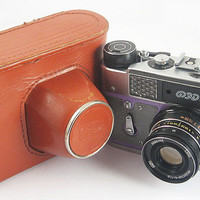 FED 5 Russian Soviet 35mm Film Leica Copy Rangefinder Camera Industar-61LD Lens
