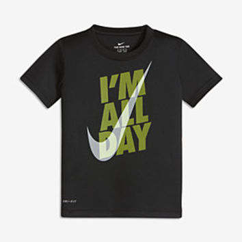 "The Nike Dry ""I'm All Day"" Little Kids' (Boys') T-Shirt."