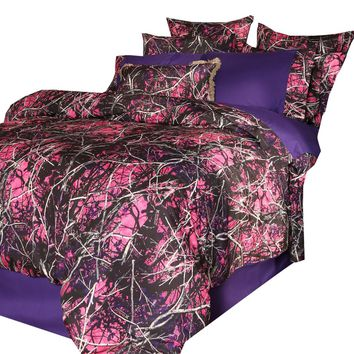 Muddy Girl Camo Bedding Set