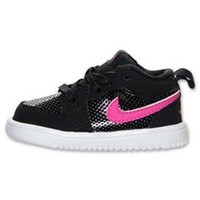 Girls' Toddler Air Jordan 1 Low Basketball Shoes