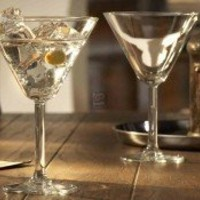 Ambassador Martini Glasses, Set of 4