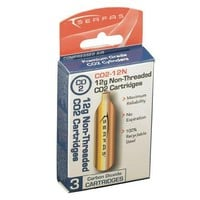 Serfas 12G Non-Threaded CO2 (3 pack)