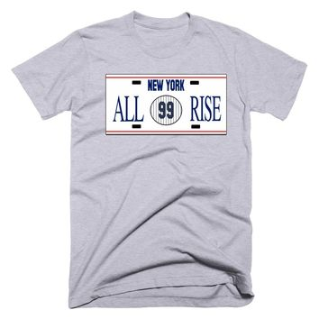 All Rise New York License Plate T-Shirt