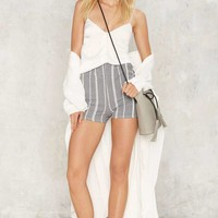 Sail Away High Waisted Shorts