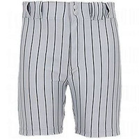 Wilson Men's Poly Warp Knit Baseball Pinstripe Shorts