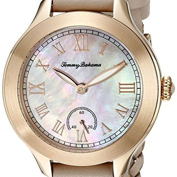 Women's 10018335 Waikiki Dream Analog Display Japanese Quartz Beige Watch