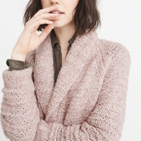 Womens Hand-Knit Cable Cardigan | Womens For a Night Out | Abercrombie.com