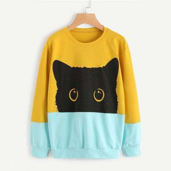 Cute Kitty Pullover
