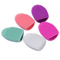 Silicone Makeup Scrubber Board Washing Cosmetic Brush