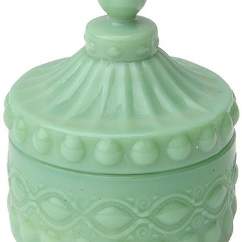 Milk Glass Container - Glass Containers With Lids - Milk Glass - Glass Food Containers   HomeDecorators.com