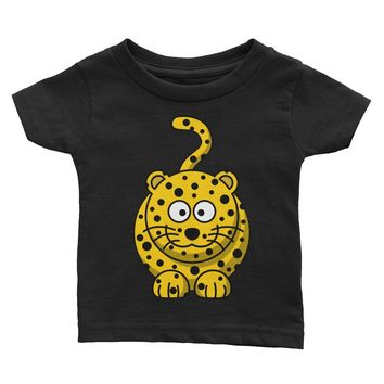 Plump Leopard Infant Tee, Adorable tee for Kids and Toddlers