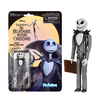 Nightmare Before Christmas Jack Skellington Evil Smile ReAction Action Figure