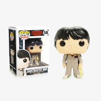 Funko Stranger Things Pop! Television Ghostbuster Mike Vinyl Figure