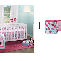 Disney Baby Bedding 3-Piece Crib Bedding Sets with Bumper Included Bundle