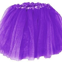 Girls Ballet Tutu Purple