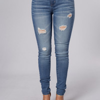 In The Moment Jeans - Medium Wash