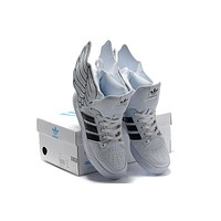 adidas jeremy scott wings 2 0 black white men women sneaker