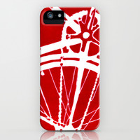 Red Bike iPhone & iPod Case by CAPow!