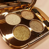[BIG SALE] on 4 Colors Bright Glittery Metallic Eyeshadow Palette