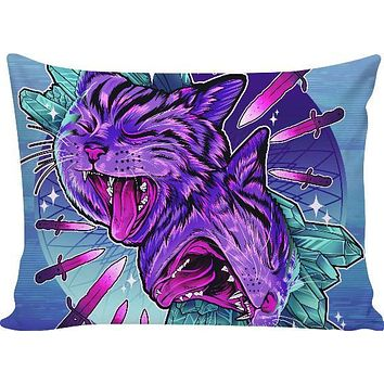 ROPC Crystal Cats Pillow Case