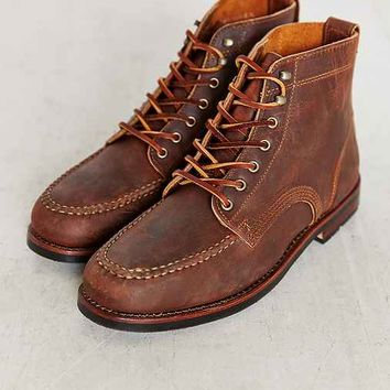 Eastland Sawyer USA Moc Toe Boot- Brown