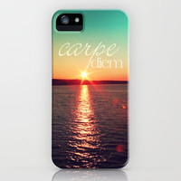 carpe diem iPhone Case by Sylvia Cook Photography | Society6