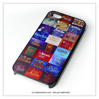 All Disney Movie Tittle iPhone 4 4S 5 5S 5C 6 6 Plus , iPod 4 5  , Samsung Galaxy S3 S4 S5 Note 3 Note 4 , and HTC One X M7 M8 Case