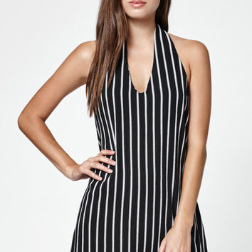 LA Hearts Stripe Strappy Back Dress at PacSun.com