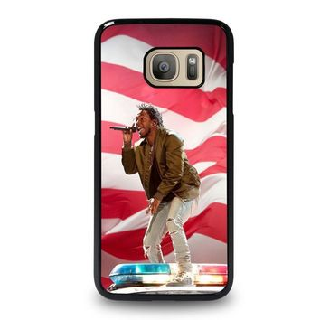 kendrick lamar tour show samsung galaxy s7 case cover  number 1