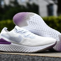 HCXX 19Aug 560 Nike Epic React Flyknit 2 Mesh Sneaker Breathable Casual Running Shoes
