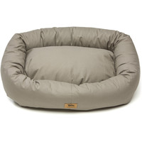Bumper Solid Dog Bed with Cotton