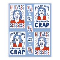 HILL YASSS STICKERS