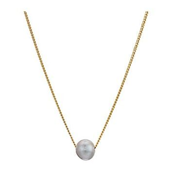 Chan Luu Floating Pearl Necklace