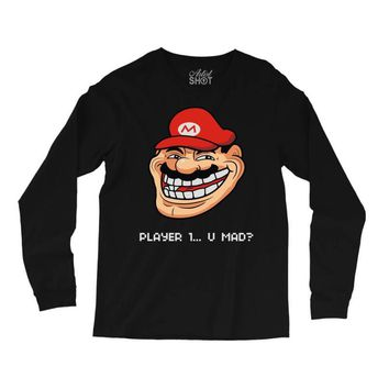 player 1 (2) Long Sleeve Shirts